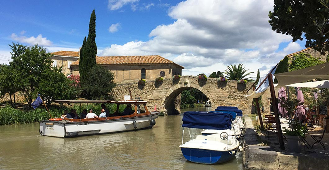 Canal du midi, boat trip, discover South of France