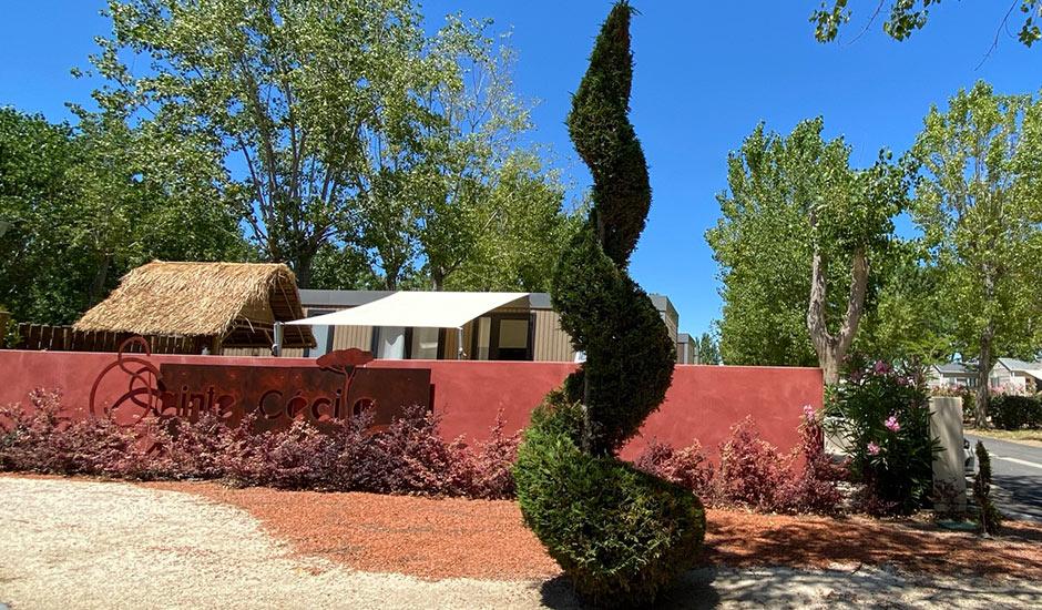 reserver vacances domaine sainte cecile dans l'herault