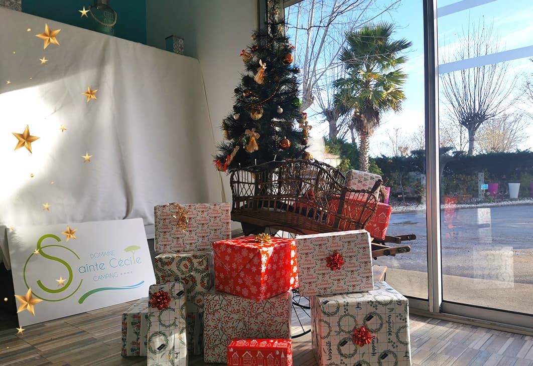 Participez au concours de Noël du Domaine Sainte Cécile à Vias Plage